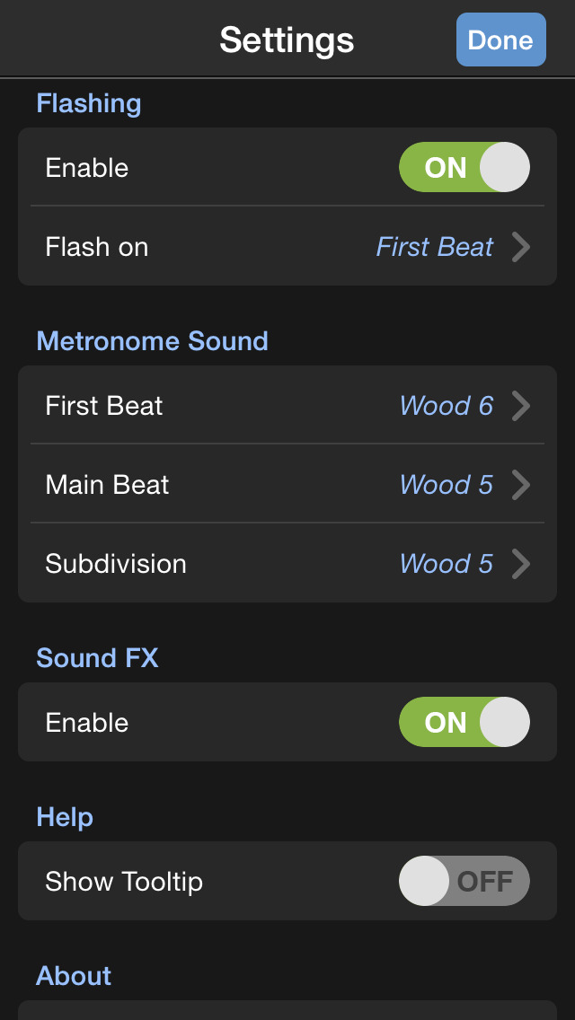 Metronome 9th: Pro Instrument for Music Practice screenshot 5