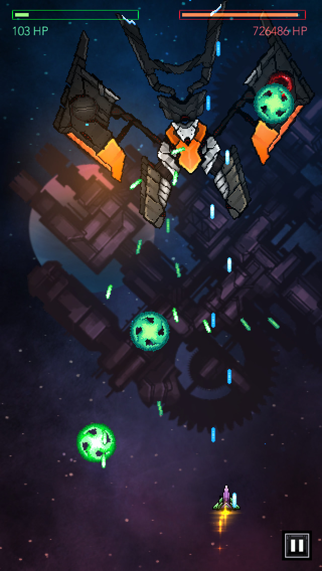 Gemini Strike: Space Shooter screenshot #1