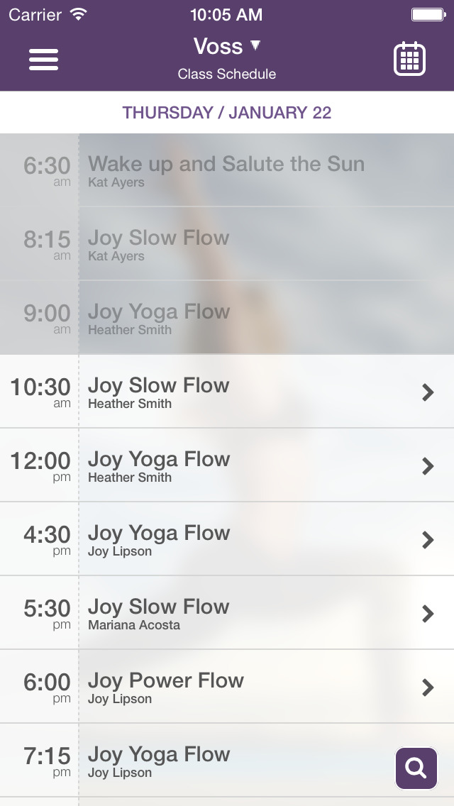 Joy Yoga Center screenshot #3