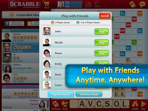 SCRABBLE screenshot #3