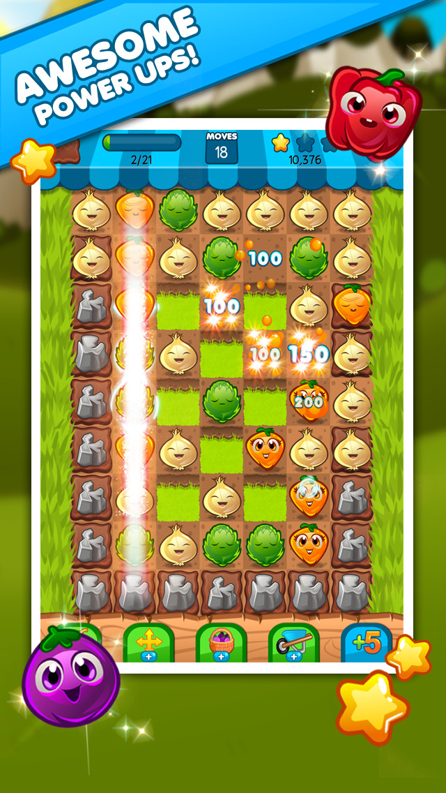 Veggie Blast screenshot #2