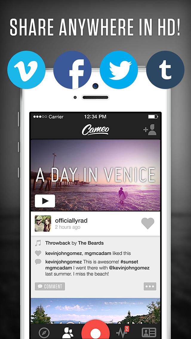 Cameo - Video Editor & Movie Maker screenshot 4
