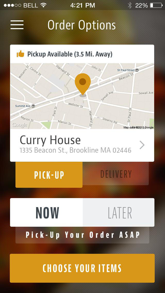 Curry House Brookline screenshot 2