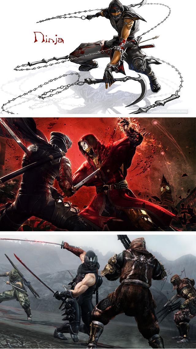Wallpapers for Ninja, Warrior & Action fight Stunt screenshot 5