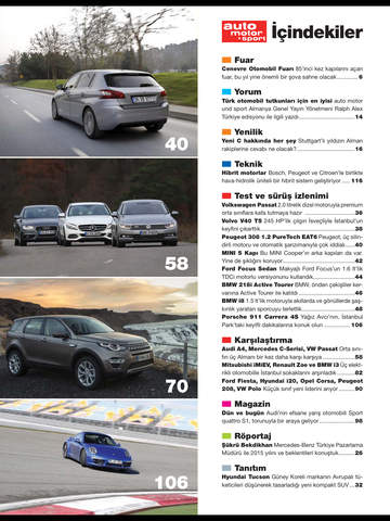 Auto motor & sport magazine screenshot 9