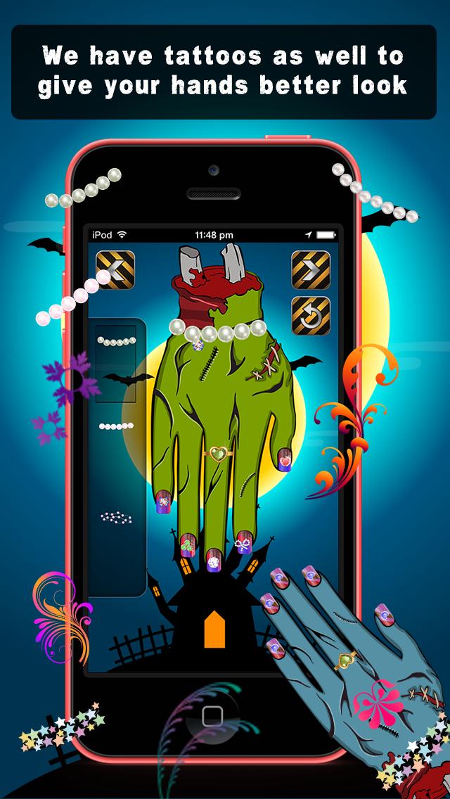 Zombie Beauty Salon - Nail Art screenshot 3