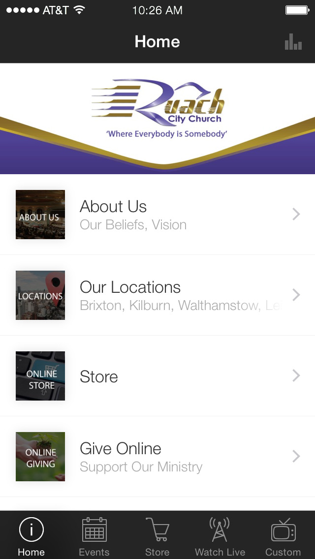 Ruach City Church screenshot 1