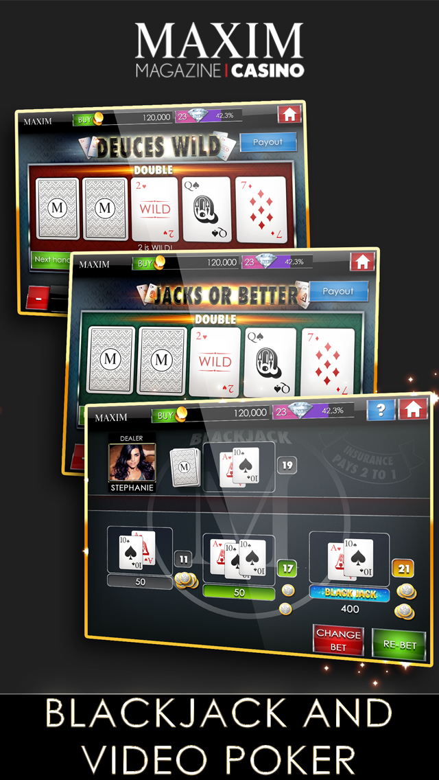 Maxim Casino Slots & Poker screenshot 3