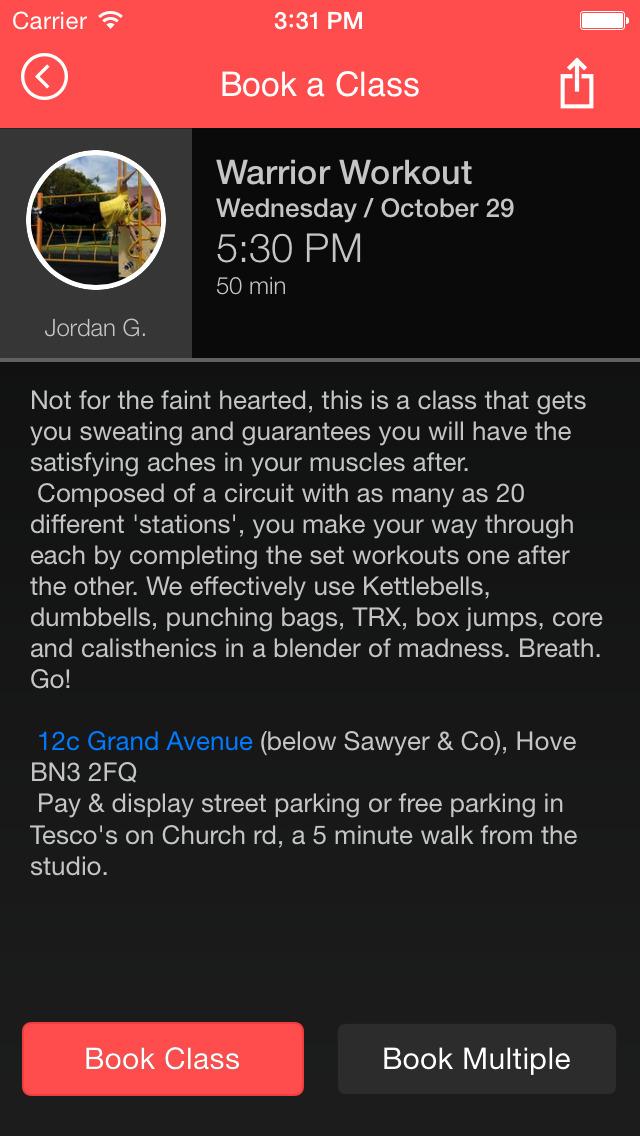 Boxercise Bootcamp screenshot #4