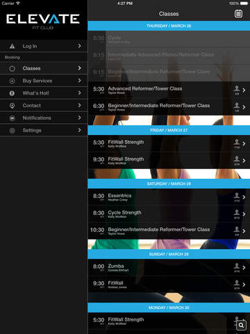 Elevate Fit Club screenshot #2