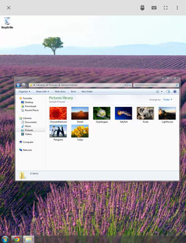 Chrome Remote Desktop screenshot 5