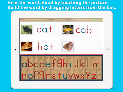 Montessori Movable Alphabet screenshot 8