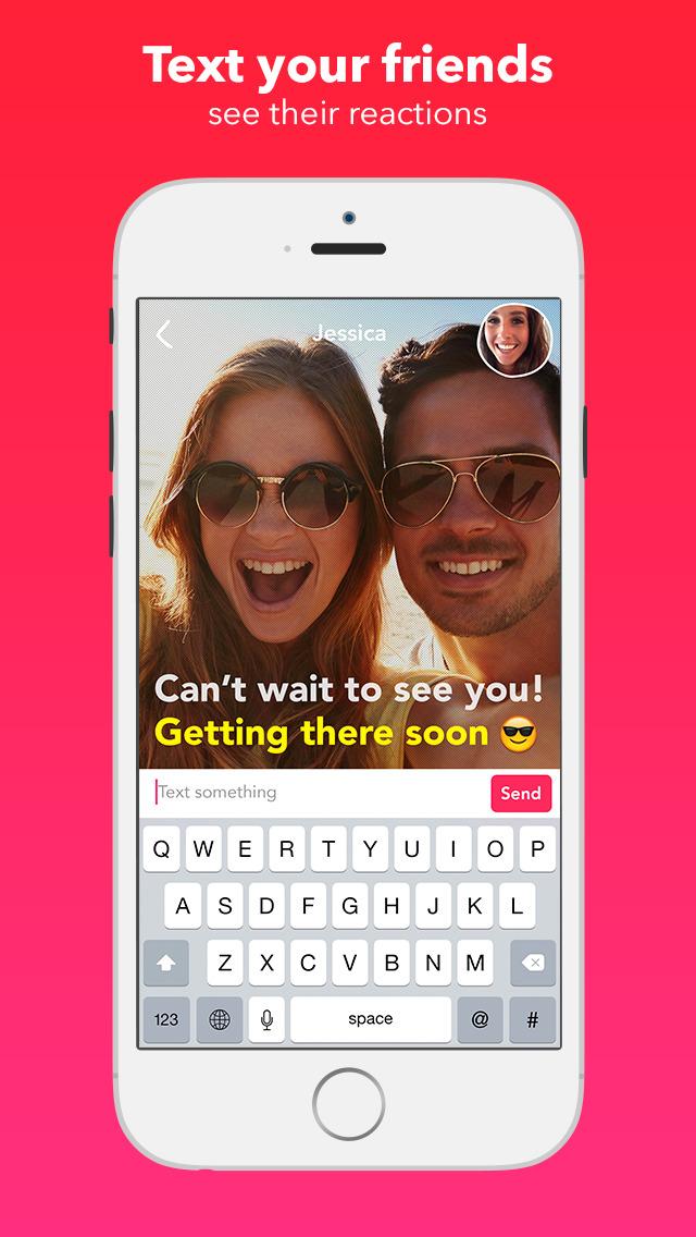 Yahoo Livetext - Video Messenger screenshot 1