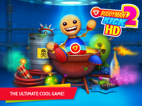Buddyman: Kick 2 HD (by Kick the Buddy) screenshot #1