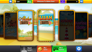 Beach Vacation Slots Fun Lucky Atlantic 777 Casino screenshot 2