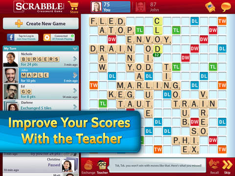 SCRABBLE Premium for iPad screenshot #4