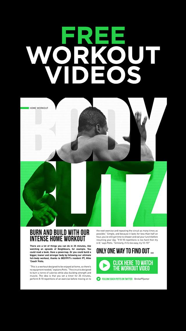 BESTFIT Magazine – 100% Free health and fitness magazine screenshot 2