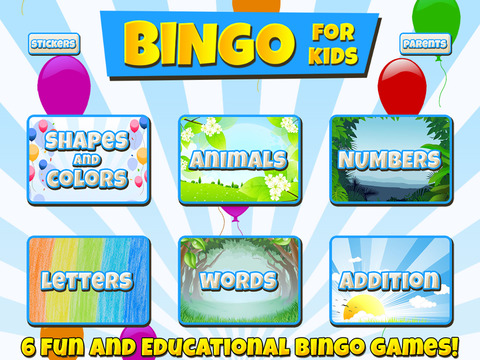 Bingo for Kids screenshot 5