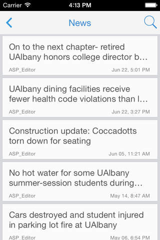 The Albany Student Press - náhled