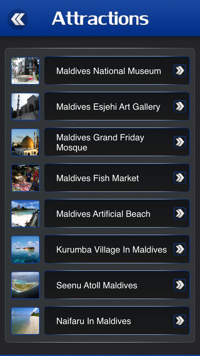 Maldives Travel Guide screenshot 3