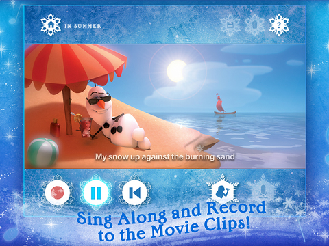 Disney Karaoke: Frozen screenshot 8