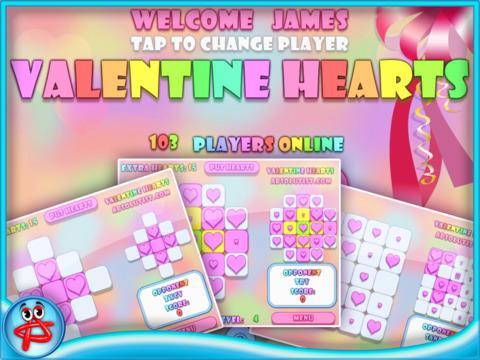 Valentine Hearts Collapse Game screenshot 6