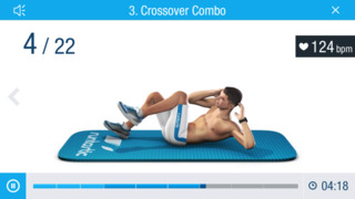 Runtastic Six Pack Abs Workout screenshot 1