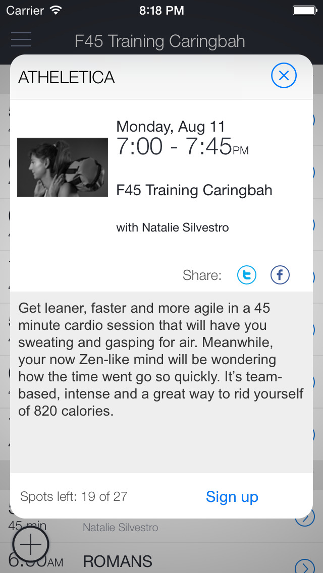 F45 Training Caringbah screenshot 2