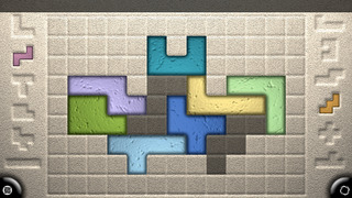 Zentomino - Relaxing alternative to tangram puzzles screenshot #1