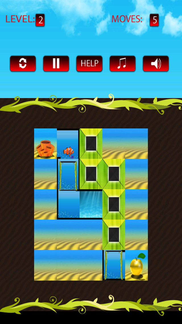 Free Puzzle Game Apple Of Gold screenshot 2