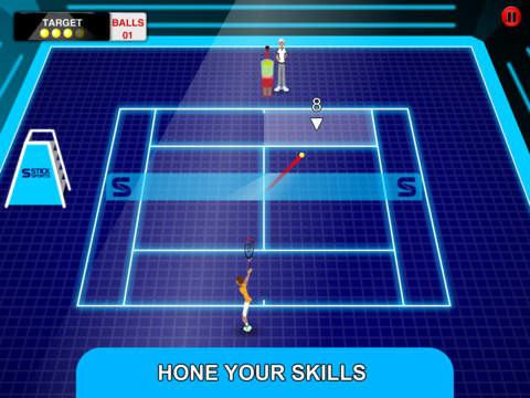 Stick Tennis Tour screenshot #3