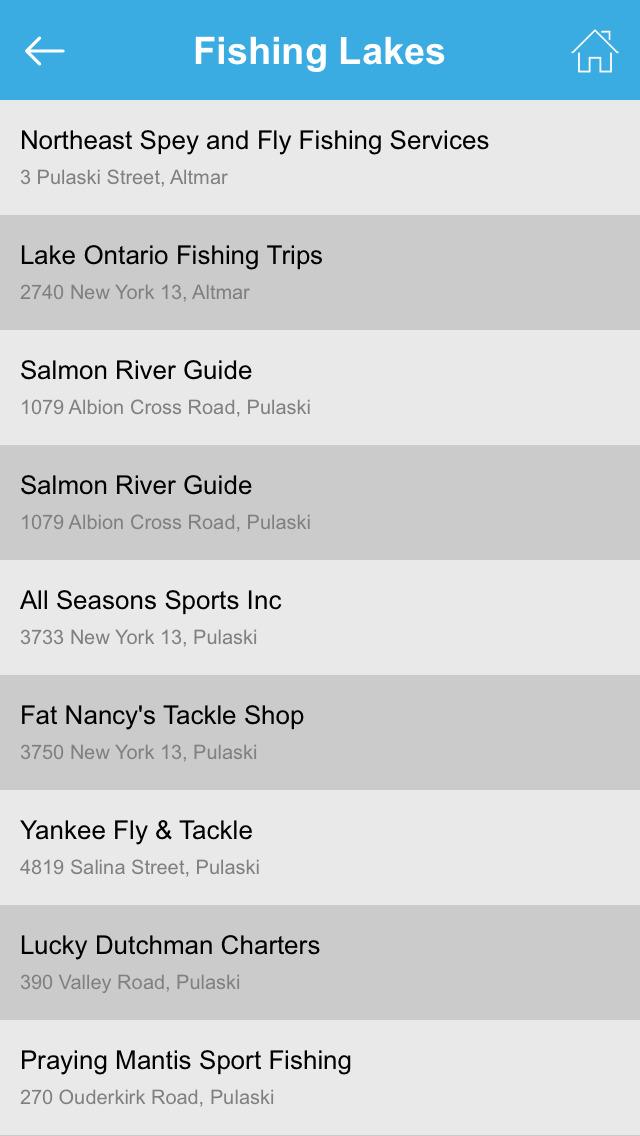 New York Fishing Lakes screenshot 5