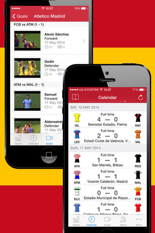 Football Scores Spanish 2012-2013 Standing Video o - náhled