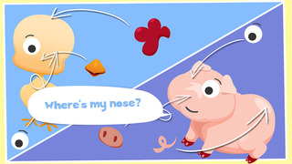 Free Play with Farm Animals Cartoon Jigsaw Game for toddlers and preschoolers screenshot 3