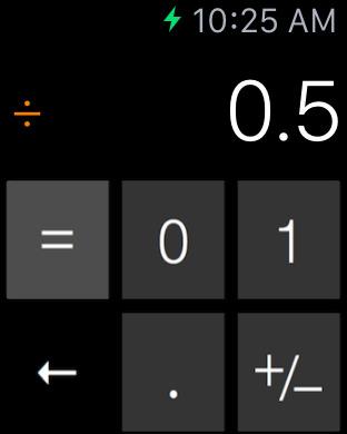Cruncher - Watch Calculator screenshot 7