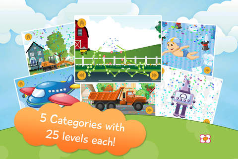Kids Vehicle Connect The Dots - Free - náhled