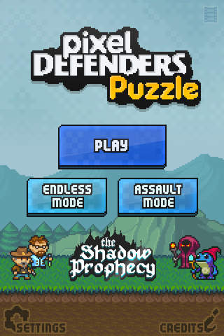 Pixel Defenders Puzzle - náhled