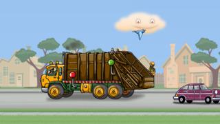 Garbage Truck: Brushy Pick Up screenshot #5