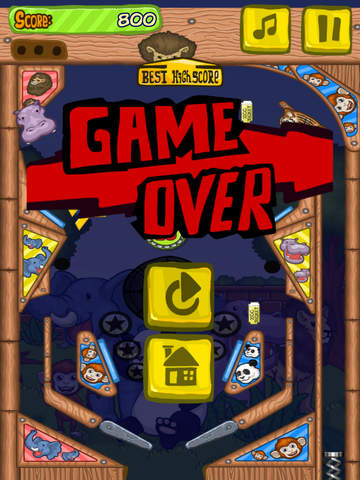 Zoo Pinball ⊙ screenshot 10