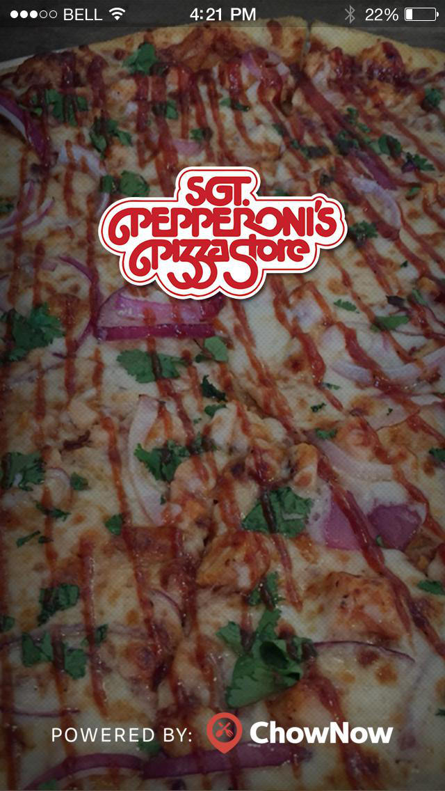 Sgt. Pepperoni's Pizza screenshot 1
