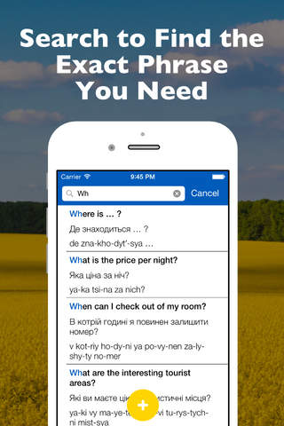 SmallTalk - Ukrainian Phrasebook - náhled