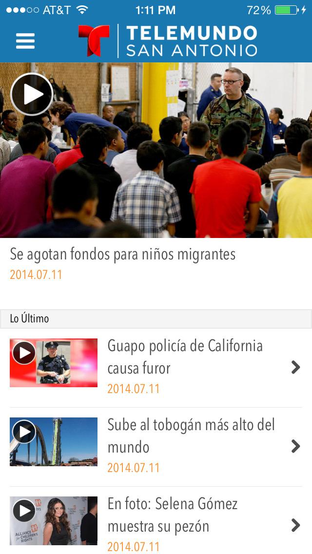 Telemundo 60 San Antonio screenshot 2