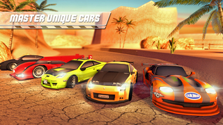 Desert Speed Racing: Need for Real Asphalt Drift 3D - Underground Race Addiction screenshot 2