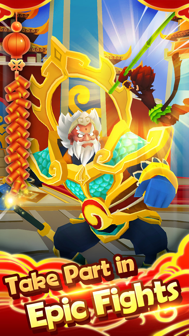 Monkey King Escape screenshot 5