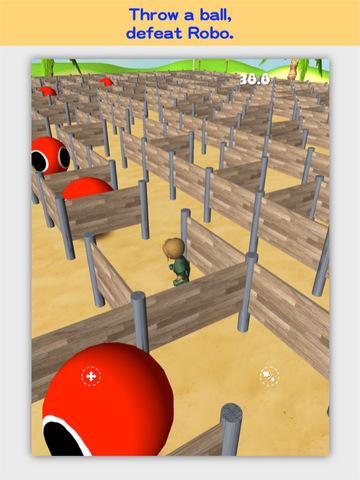 3D Maze Robo screenshot 8