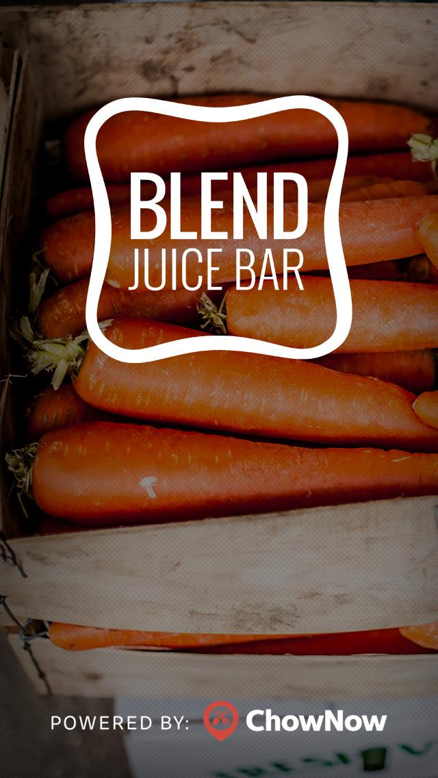 Blend Juice Bar screenshot 1