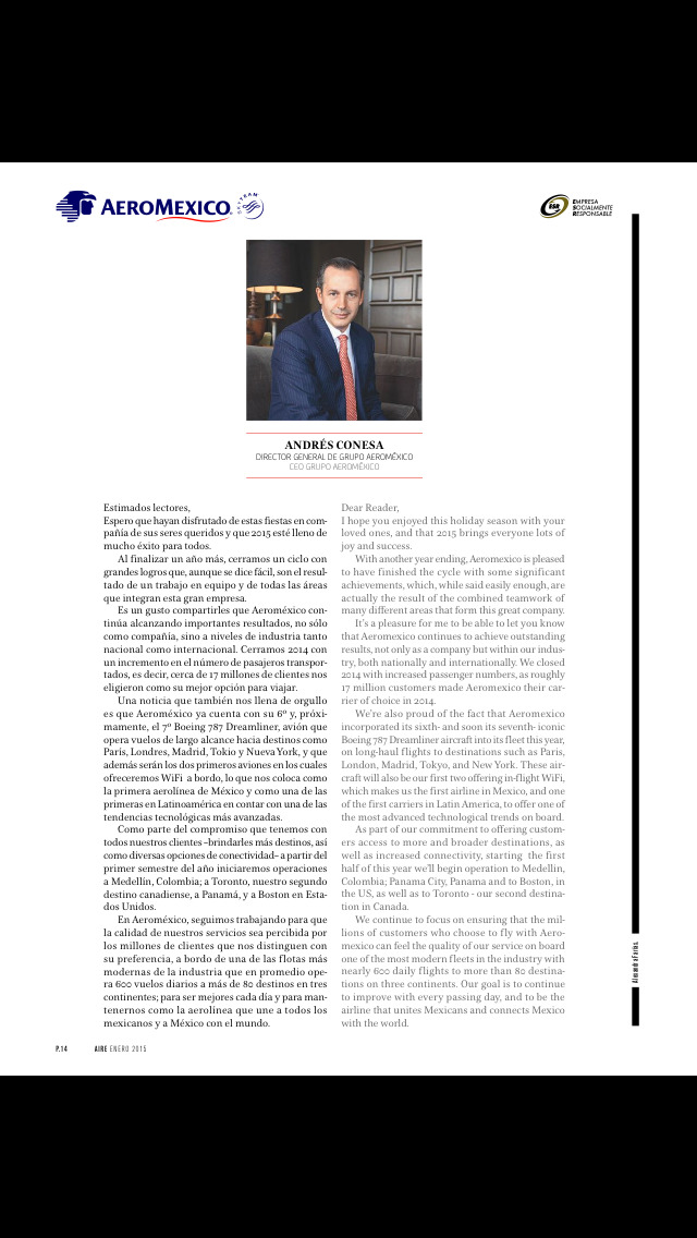 Aire Magazine screenshot 3