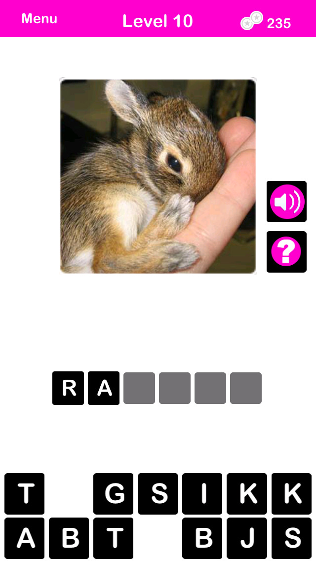 What's The Baby Animal? - The Cutest Animal Picture Word Trivia Game for EVERYONE! screenshot 4
