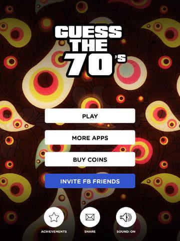 Guess The 70's screenshot 10