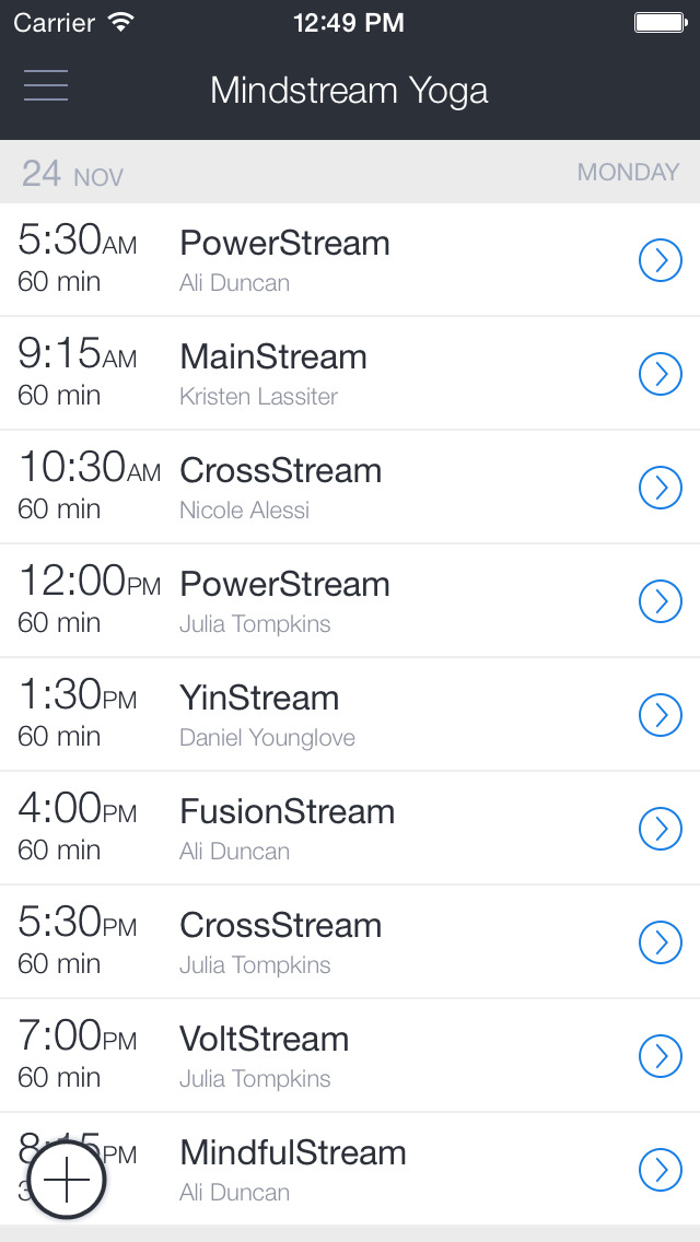Mindstream Yoga screenshot 1